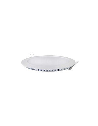 Spot LED encastrable extra plat 11W Blanc - Blanc Chaud 3000K