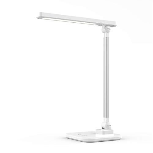 Lámpara de Mesa Escritorio LED de la lámpara lámpara de cabecera for la lectura de las luces controladas por el tacto habitación de los niños sin escalonamiento Atenuación cómodo escritorio Protección