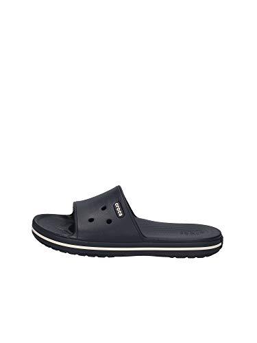 crocs Unisex-Erwachsene Crocband Iii Slide Clogs, Blau (Navy/White 462), 43/44 EU