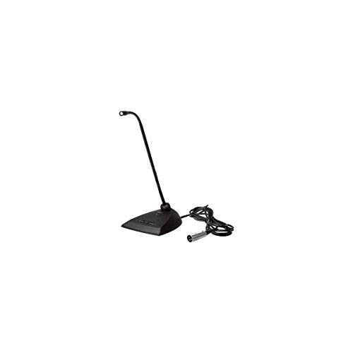 "Shure MX412D/N 12"" Microflex Gooseneck Desktop Microphone with 10 foot Cable, Program-Switch"