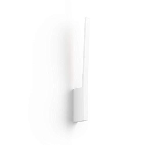 Philips Hue White and Color Ambiance Sana Led-wandlamp, dimbaar, bestuurbaar via app, compatibel met Amazon Alexa