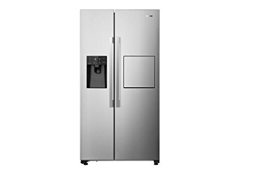 Gorenje NRS 9182 VXB1 Side-by-Side Kühl-Gefrierkombination / 179,3 cm / 532 l / No Frost Plus / Multi Airflow System / Silber