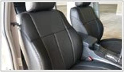 Clazzio 200311blk Black Leather Front Row Seat Cover for Toyota Camry SE