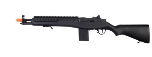 M14 Spring Airsoft Sniper Rifle, Full Scale Airsoft Gun, High Power Long Range