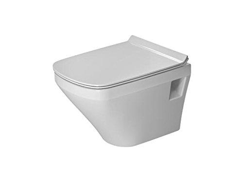 Duravit DU Wand-WC DuraStyle 480mm compact, rimless, Tiefspüler, 4,5L, Weiß, HYG