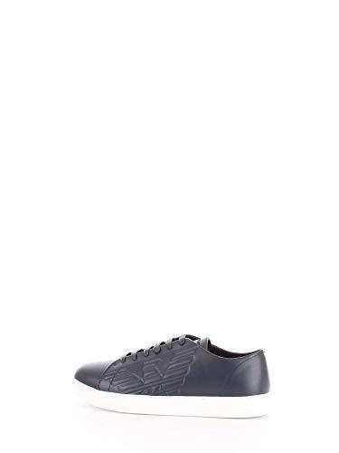 Emporio Armani X4X238 XF332 Sneakers Harren blau 43