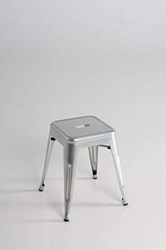Kit Closet sillas y taburetes inductrial, Plata