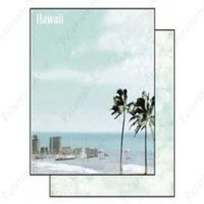 Best Creation 12 by 12-Inch Glitter Paper, Hawaii Designs, Case Packed, 25 Sheets