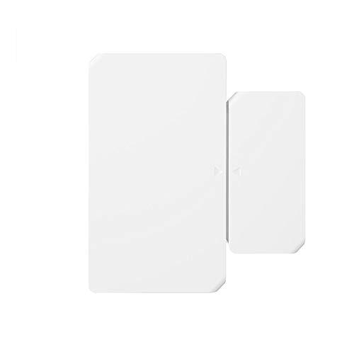 Sonoff - Sensor de alarma para puertas y ventanas, automatización inalámbrica antirrobo compatible con ZigBee Bridge y WiFi Tramite, eWeLink App IFTTT, sistema de alarma de seguridad doméstica