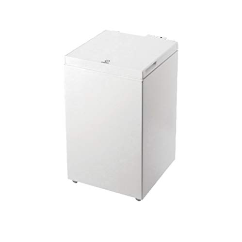 Indesit OS 1A 100 Congelatore a Pozzetto, F, 97 L, Bianco