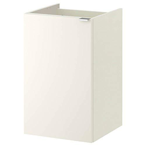 LILLANGEN Waschbeckenunterschrank mit 1 Tür, weiß
