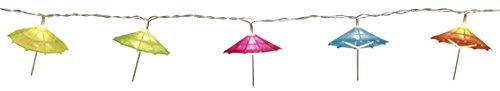 Best Season Éclairage Solaire, Parapluie, Multicolore, 13,5 x 8 x 8 cm, 728–85