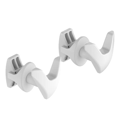 Pareja Handy Vip baño - 2 toalleros para radiadores de baño, se fijan directamente al radiador de baño - Blanco