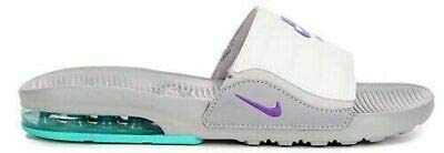 Nike Women\'s Air Max Camden Slide Sandals, Wolf Grey/Hyper Grape-white, 6