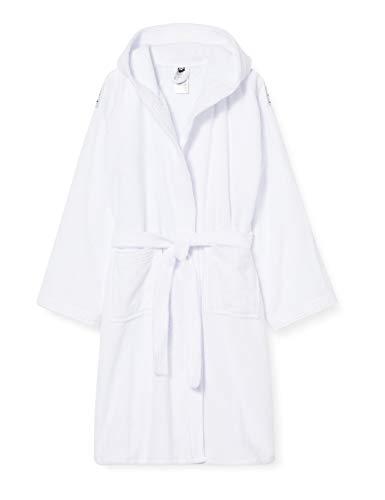 ARENA Bademantel Soft Robe Core Bata, Unisex Adulto, Color Blanco, Small