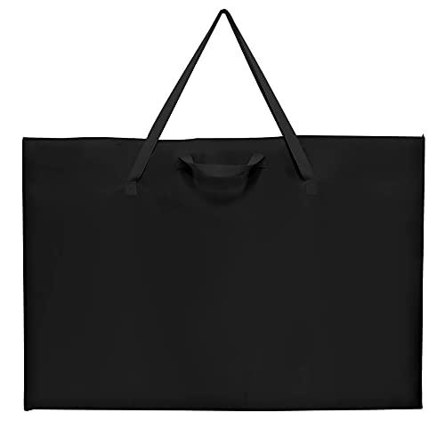 "ZKOO Large Size Art Portfolio Tote with Nylon Shoulder, Poster Board Storage Bag, 24""X 36"" Student Art Work Portfolio Case"