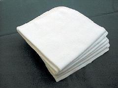 1 Moltontuch 80x80 cm aus 100% kbA-Baumwolle naturbelassen