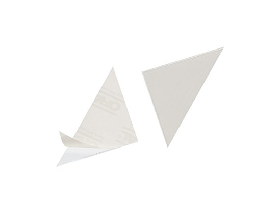 Durable 838219 Dreiecktasche Cornerfix 125 x 125 mm Packung á 100 Stück transparent