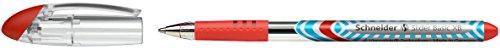 Schneider Slider XB Viscoglide Gelroller, Farbe:rot