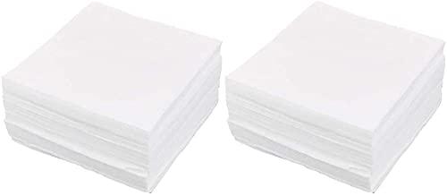 Buena Estabilidad Accesorios de Impresora Limpieza Limpiador sin Polvo Boquilla Limpiador Limpiador 15cmx15cm 300pcs Blanco Duradero
