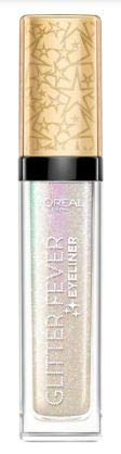 L'OREAL Glitter Golden Fever Eyeliner 1's - Use it as eyeliner for a metallic winged look, glide over your favourite eye shadow or master the crease eye shadow trend to add glitter to your makeup look