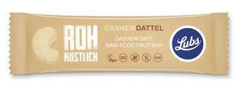 Lubs Bio Cashew Dattel Rohkostriegel (6 x 47 gr)