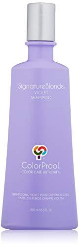 ColorProof SignatureBlonde Violet Shampoo 8.5 Fl Oz - Purple Shampoo for Blonde, Cuts Brass, Color-Safe, Vegan, Sulfate-Free, Salt-Free - Professional