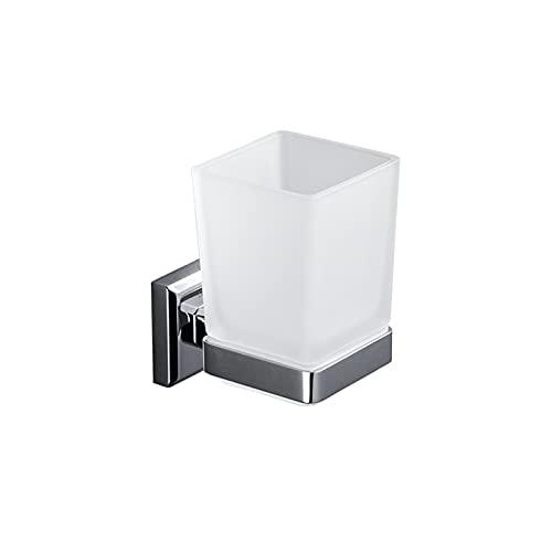 Taza de Taza de Montaje en Pared Doble Cepillo de Dientes Taza de Taza de Dientes Tazas Accesorios de baño Baño Conjunto de Hardware (Color : G3806)