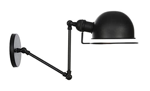 Ajuste telescópico Doble Sección Mecánico Brazo de hierro forjado Lámpara de pared Simple estilo nórdico Iluminación decorativa Luz de pared industrial SKYJIE