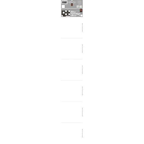 260597 zelfklevende folie voor tegels, keramiek, polyvinyl, wit, 15 x 15 x 0,1 cm