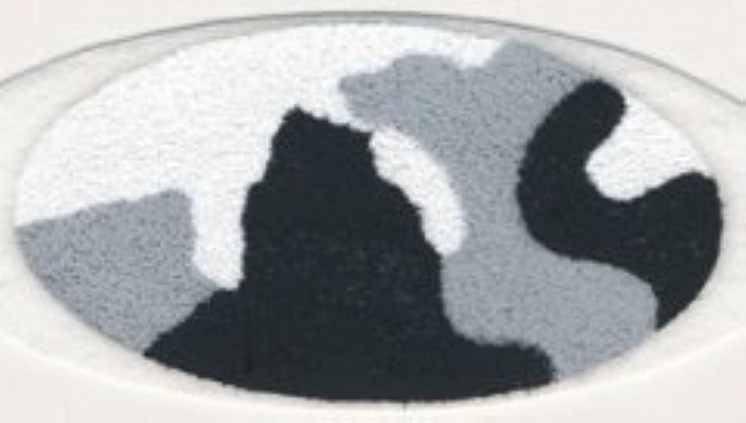 ベンチ学生抵抗米国シネマシークレット社製 ブラックカモフラージュ 貼るインスタントアイシャドウ(カラーオン) Black Camo CO057