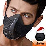 GO4FIT WORKOUT MASK | FITNESS MASK | GYM, BREATHING, CARDIO, ELEVATION EXERCISE TRAINING | ENDURANCE MASK