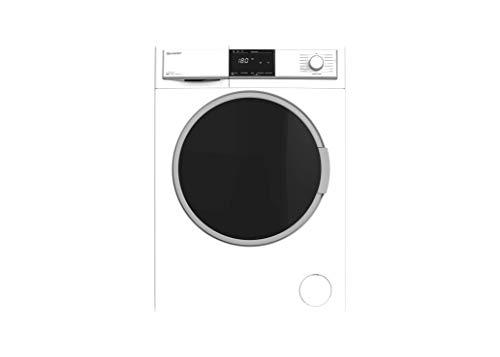 Sharp ES-HFB0147W3-DE Waschmaschine Frontlader/A+++ / 10 kg / 1400 UpM / 15 Programme/AquaStop/Weiß