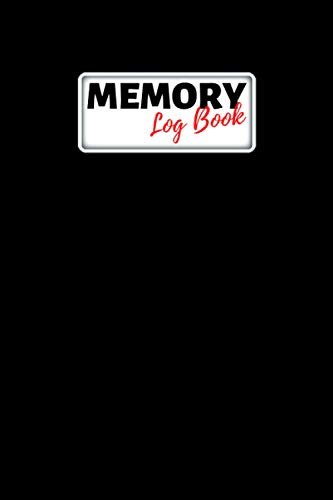 Memory Log Book Journal: Glamping Keepsake Memory Book with Prompts to Write in for Travel Adventure Notes, Record Memories Every Day of the Year! - Black Cover Diary
