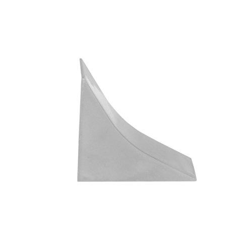 HOLZBRINK Endstück passend zum Dekor Ihrer Abschlussleisten Granit PVC Küchenabschlussleiste 23x23 mm