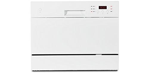 MEDION Tischgeschirrspler (6 Gedecke Fassungsvermgen, 6 Reinigungsprogramme, 51 dB, 174 kWh/Jahr, MD16698)