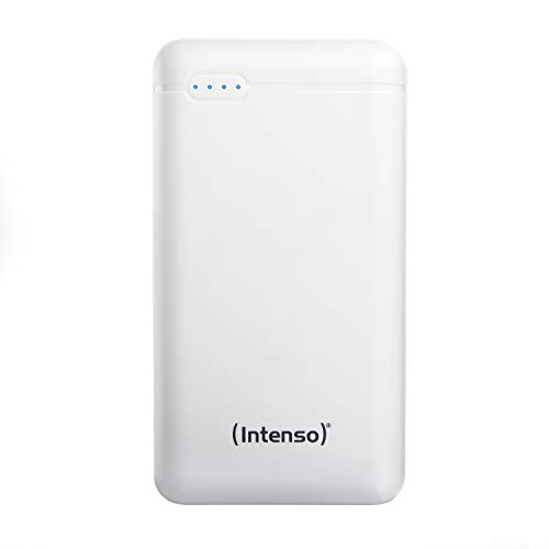 Intenso Powerbank XS, externe oplader (geschikt voor smartphone/tablet pc/MP3-speler/digitale camera), 20000mAh, wit