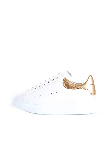 Alexander McQueen 553680WHNB Sneakers Basse Uomo Oro 44