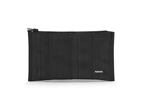 Unisex Kupplung. Reißverschluss Beutel. Veranstalter Tasche/Reise Tasche/Handtasche/Clutch aus Fahrradschlauch Upcycling/Recycling