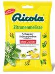Ricola Zitronenmelisse, Schweizer Kräuterbonbons zuckerfrei - 75g - 6x