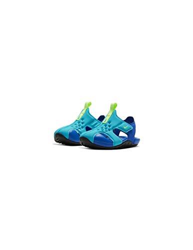Nike Sunray Protect 2, Sandalia Unisex Niños, Oracle Aqua Ghost Hyper, 23.5 EU