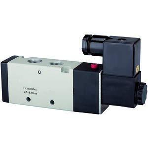 RIEGLER 116136-517.2106 5/2-Wegeventil elektropneum. »4V« monostabil, G 1/2, 230 V, 50 Hz, 1Stk