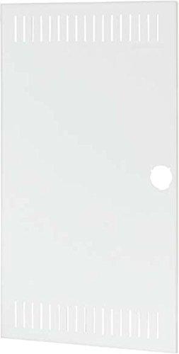 Eaton 178923 Ersatztür Luftschlitze, weiß, 3-reihig für Kleinverteiler-Unterputz (Hohlwand)