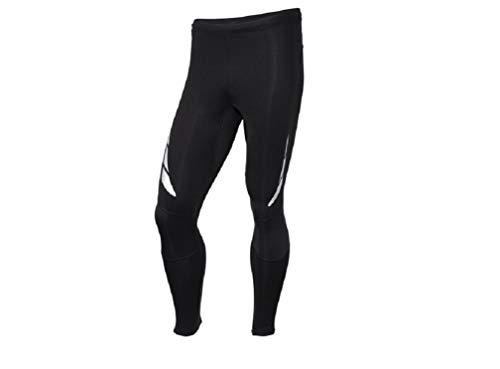 Crivit Pro Running - Pantalones de compresión para hombre, para correr, para entrenamiento, ciclismo, yoga, senderismo, baloncesto, talla M
