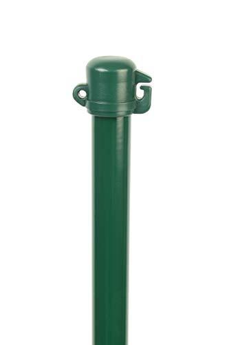 GAH-Alberts 608941 Universalstab   glatte Oberfläche   zinkphosphatiert, grün kunststoffbeschichtet   Länge 1250 mm   Pfosten-Ø 16 mm   20er Set
