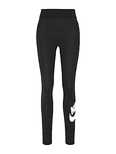 NIKE CZ8528-010 W NSW ESSNTL LGGNG Futura HR Leggings Womens Black/(White) M