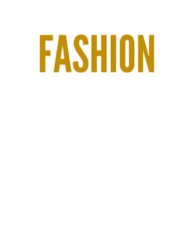 FASHION: A Decorative GOLD and WHITE Designer Book For Coffee Table Decor and Shelves   You Can Stylishly Stack Books Together For A Chic Modern ... Stylish Home or Office Interior Design Ideas