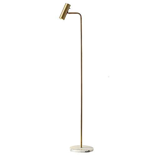 CuteLife Lámpara de Piso Lámpara de pie Regulable LED Moderna Lámpara de decoración de pie Vertical Simple Lámparas de decoración para el hogar para Sala de Estudio de Oficina