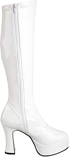 Pleaser Exotica-2000, Damen Stiefel, Weiß (White), 39 EU (6 UK)