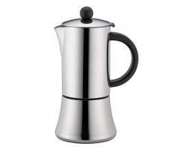 Cilio Tiziano Espressokocher 6 Tassen Schwarz